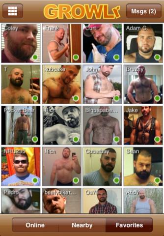 GROWLr: Gay Bear Social Network
