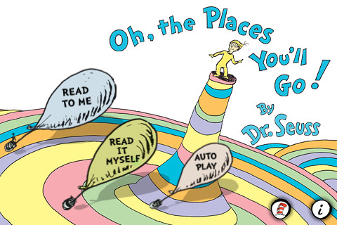 Oh, the Places You'll Go! - Dr. Seuss 1.08.1 App for iPad, iPhone