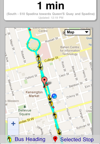 Next Bus Free - realtime transit update for your next TTC, NJT and more than 40 others