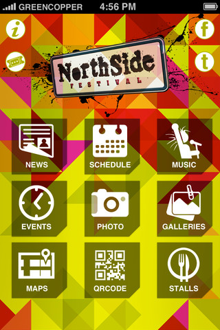 NorthSide Festival 2012 – Official App