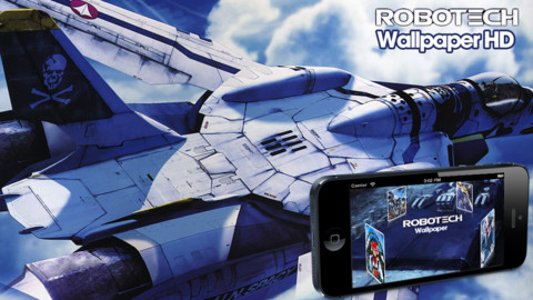 Robotech hd 0 1 app for ipad iphone entertainment app - Wallpapers robotech 3d ...