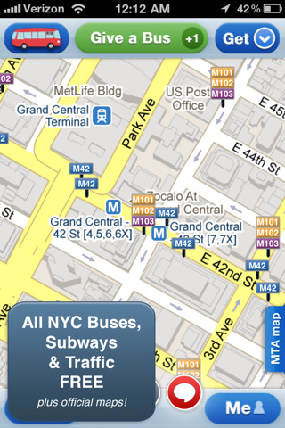 Roadify - NYC Subway, Bus, Parking & Traffic