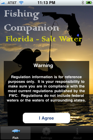 Fl saltwater fishing companion app for ipad iphone for Florida fishing app
