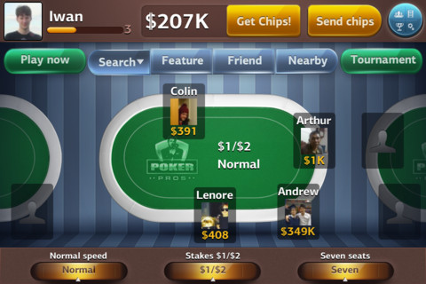 Poker Pros - Texas Hold `Em Mobile 1.2