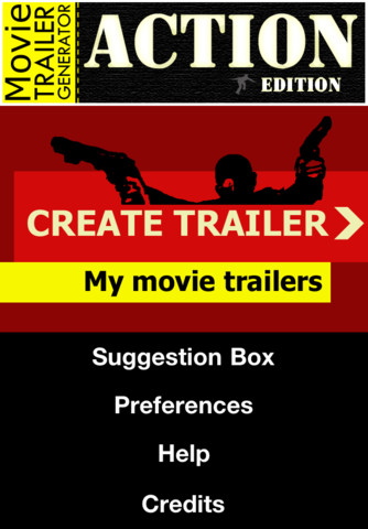 Movie Trailer Generator: Action Edition action and adventure movie