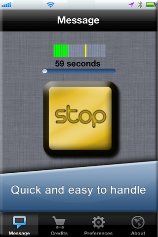iphone how to send a voice message to landline