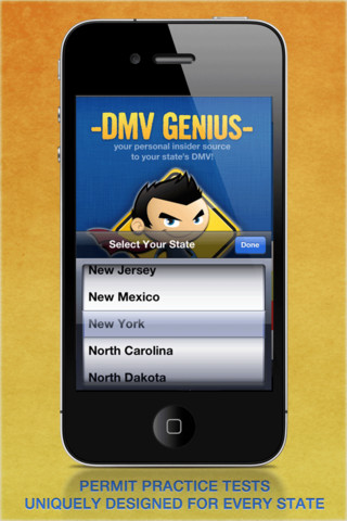 DMV Genius FREE: Permit Practice Tests for Your State