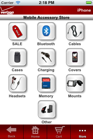 Verizon Mobile Accessory Store smartphones verizon