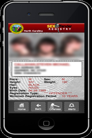 NC DPS: Criminal Offender Searches
