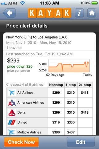 KAYAK PRO Flights, Hotels, Flight Tracker