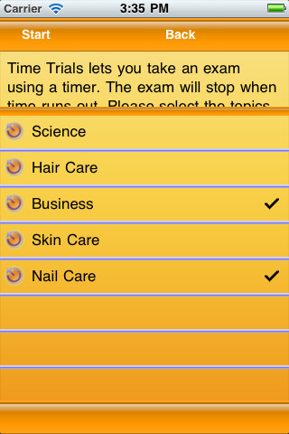 Cosmetology state board practice exam 3