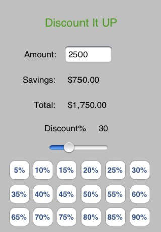 Discount It Up discount