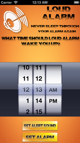Loud Alarm Clock FREE Best Wake Up App 1
