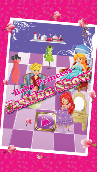 Baby Princess Fashion Show - A super model & summer fashion outfit maker teen girl game fashion land model