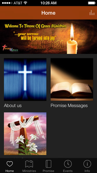 Throne Of Grace Ministries presentation ministries