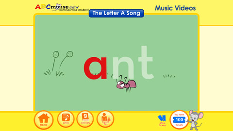 ABCmouse.com 26 A-Z Music Videos