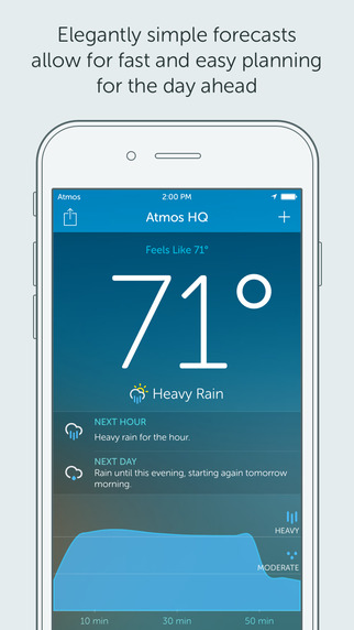 Atmos - Weather for your iPhone and Apple Watch apple iphone