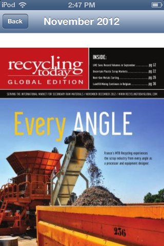 Recycling Today Global Edition recycling today