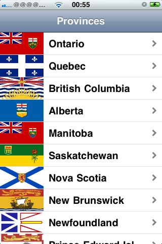 Canadian Provinces and Territories atlantic provinces climate