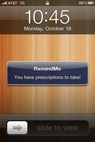 RxmindMe Prescription / Medicine Reminder and Pill Tracker