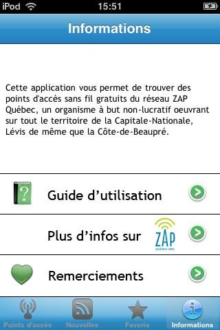 ZAP Québec - wifi gratuit partout dans la Ville de Québec quebec flag
