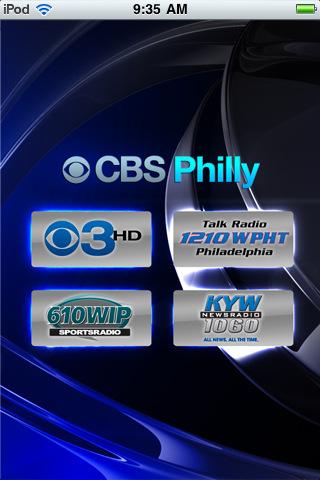 Cbs philly cbs 3 hd kyw newsradio 1060 610 wip and talk radio 1210