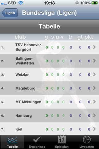 Germany handball bundesliga table - Germany bundesliga league table ...