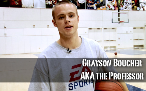 The Professor: Full Court Skills Workout Basketball System