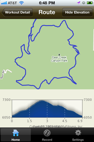 iMapMyHIKE - Hiking, Trail Running, Camping, GPS