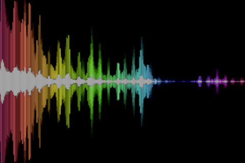 Hyperspectral Music Visualizer App For Ipad Iphone