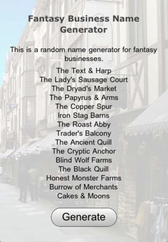 Fantasy Name Generator Related Keywords - Fantasy Name ...