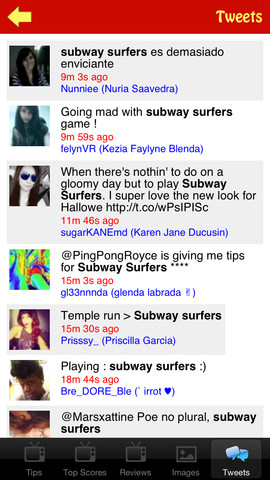 Video & Tweets for Subway Surfers