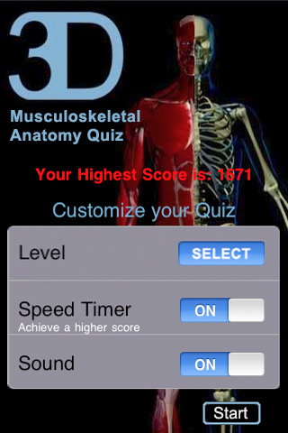 Musculoskeletal System - Anatomy Quiz (Free)