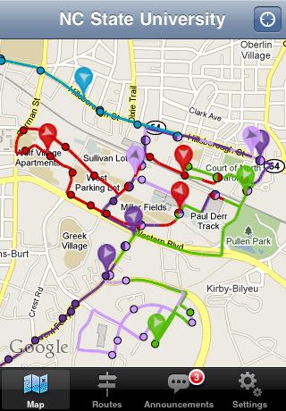 TransLoc Transit Visualization