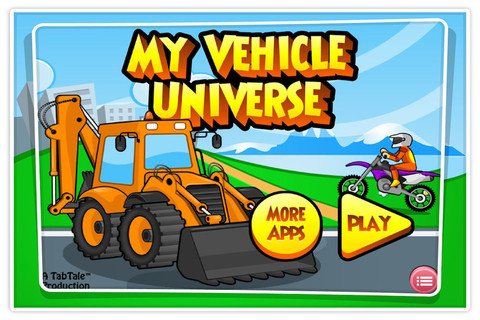 My Vehicle Universe - An Interactive Educational Game