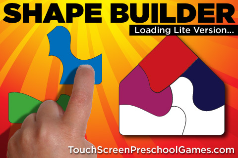 Shape Builder LITE - The Preschool Learning Puzzle Game