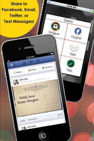 InstaMessage - Post Text Messages on Instagram