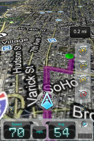 iWay GPS Navigation - Free Edition - Turn by turn voice guidance