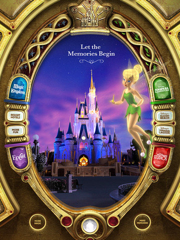 Disney Iphone Wallpapers on Walt Disney World Magic Vacation Mirror App For Ipad  Iphone   Travel