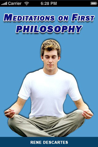 Meditations on first philosophy reference
