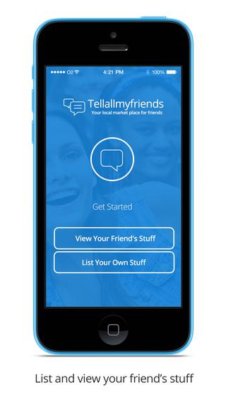 Tellallmyfriends buy local used stuff