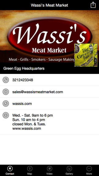 Wassi`s Meat Market vermont meat seafood market