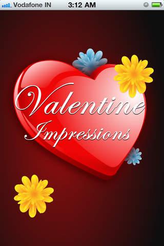 Valentine Impressions printing impressions