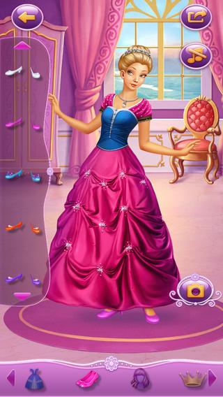 Dress Up Princess Cinderella App for iPad - iPhone - Games
