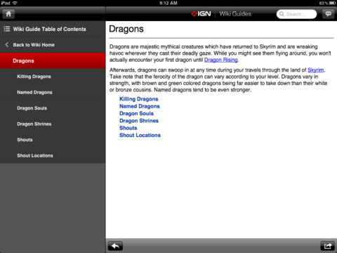 IGN Guide For Skyrim -- Interactive Maps and Game Strategy