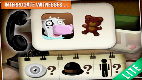 Wombi Detective – a crime solving mystery game for kids