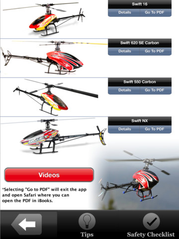 Century Radio Control Helicopter Safety App - Large