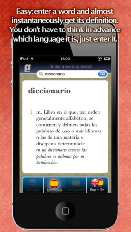 dic:ph Spanish English Dictionary dictionary english spanish