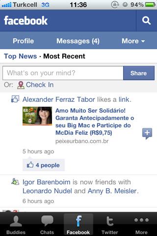 LiveGO Messenger Pro - MSN, Facebook, Twitter and Google Plus