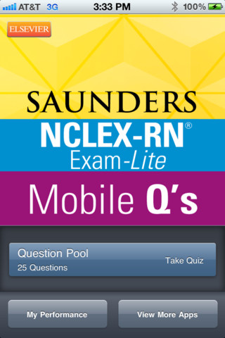 Saunders Mobile Review Questions for the NCLEX-RN Exam